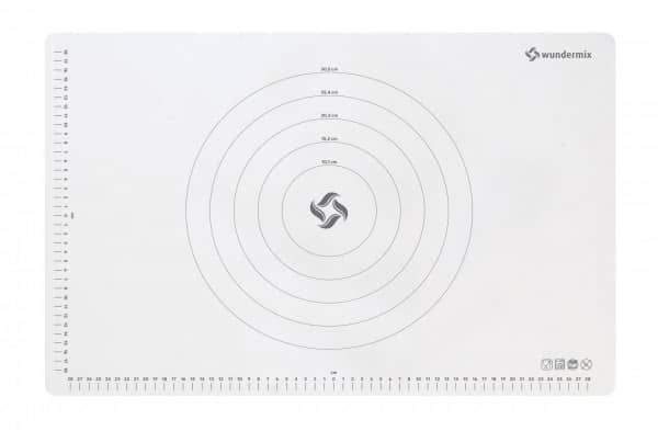 Teigunterlage «Wundermix»   Premium-Teigmatte aus Silikon